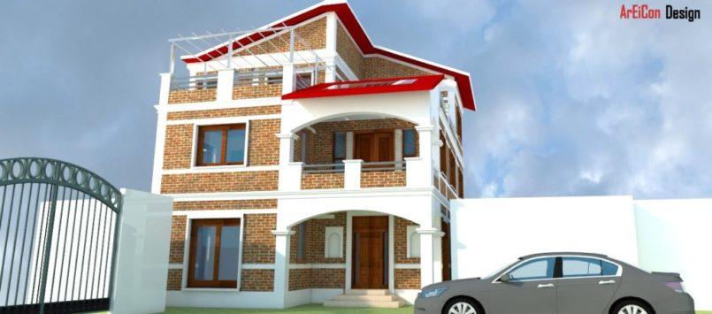 Kunwar Residence at Thankot