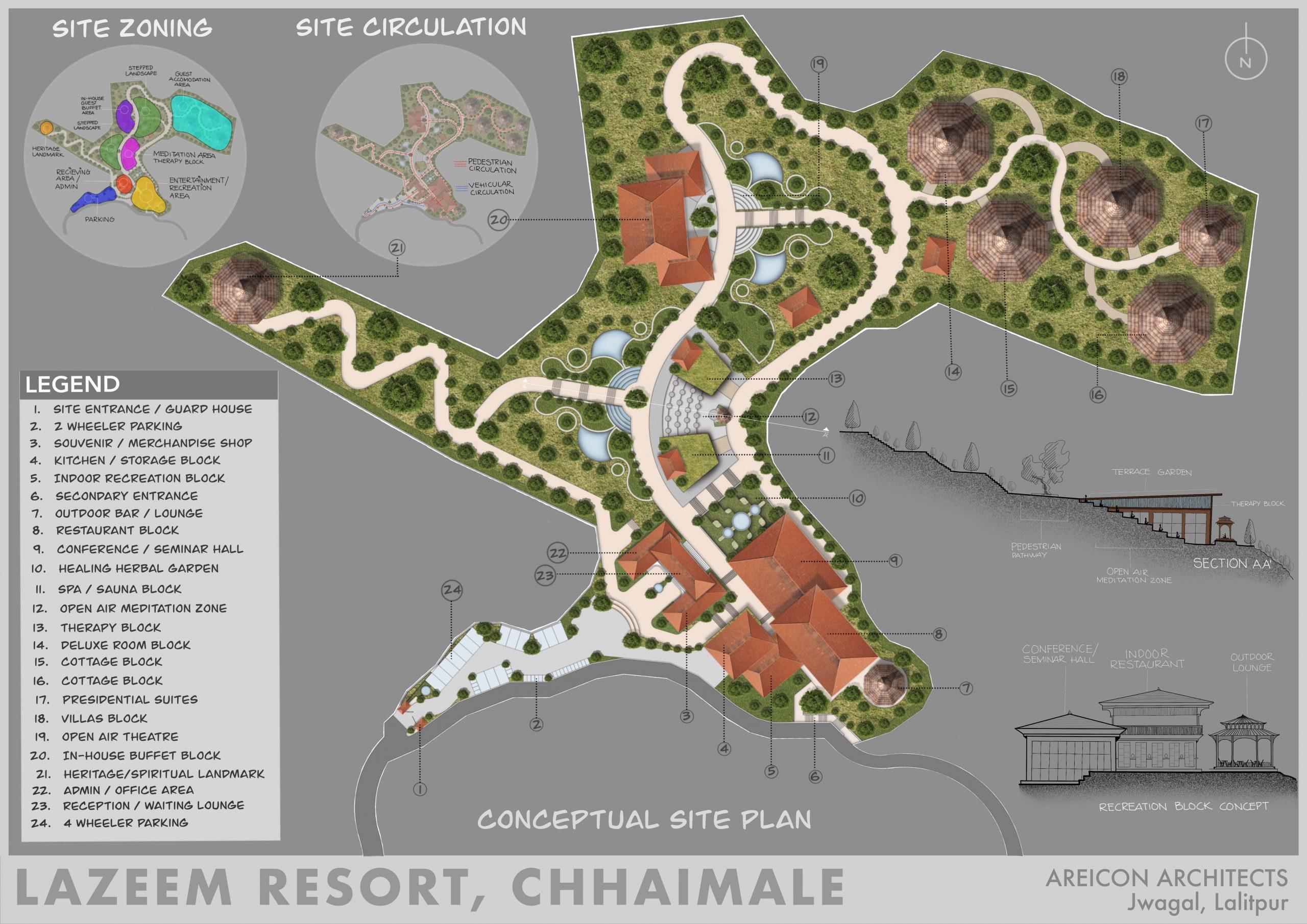 Lazeem Resort, Chhaimale