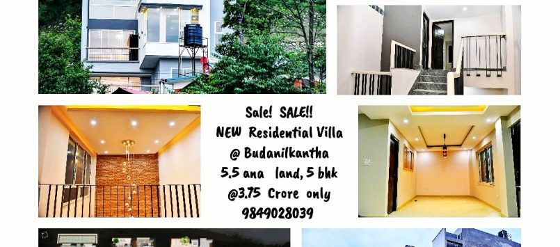 New Modern Bungalow  house at Budanilkantha on sale @3.75 Crore (Fixed)
